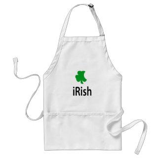 irlandés delantal