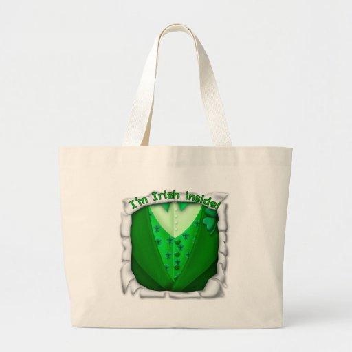 Irlandés dentro bolsa de mano