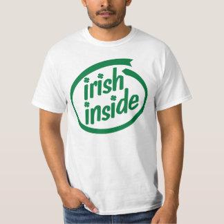 Irlandés dentro playera