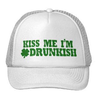 Irlandés divertido del día del St Patricks Gorras De Camionero