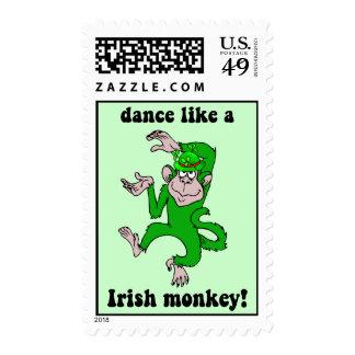 Irlandés divertido franqueo
