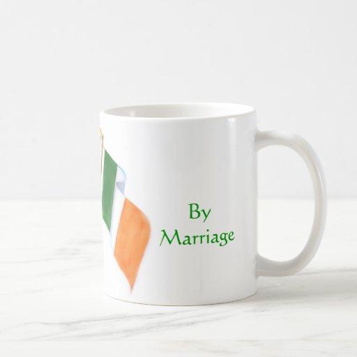 Irlandés e italiano taza de café