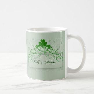 Irlandés elegante taza