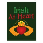 Irlandés en el corazón postales