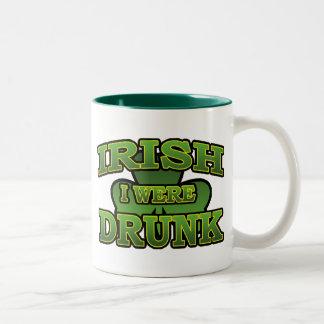 Irlandés era taza borracha