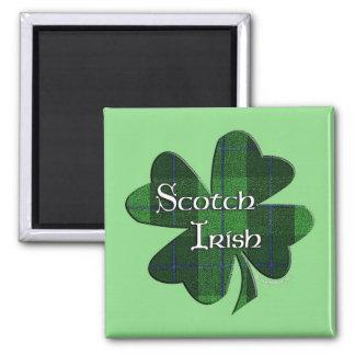 Irlandés escocés imán cuadrado
