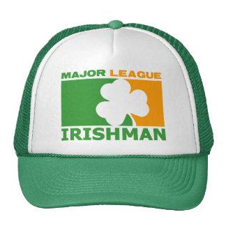 ¡Irlandés! Gorros Bordados