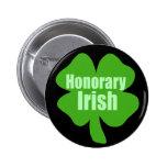 Irlandés honorario pin