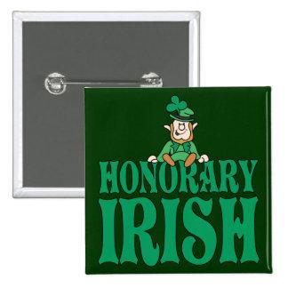 Irlandés honorario pins