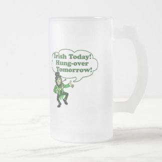Irlandés hoy Colgar-sobre mañana Taza De Cristal