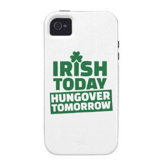 Irlandés hoy hungover mañana iPhone 4 funda