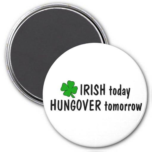 Irlandés hoy Hungover mañana Imán Redondo 7 Cm