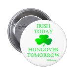 Irlandés hoy pin