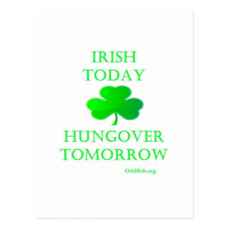 Irlandés hoy postal