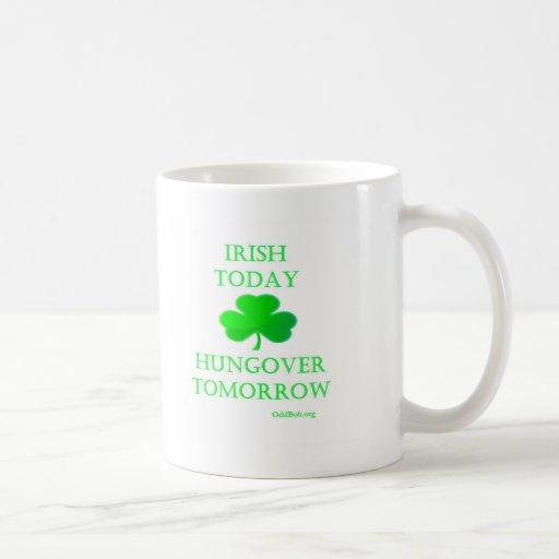 Irlandés hoy taza de café