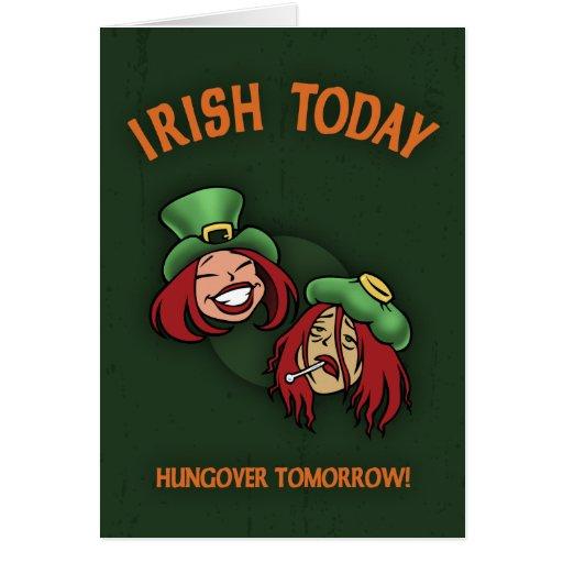 Irlandés hoy - w felicitación