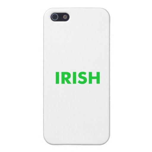 Irlandés iPhone 5 Coberturas