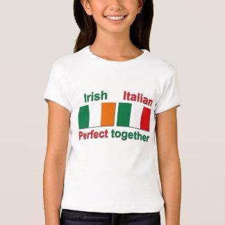 ¡Irlandés italiano - perfeccione junto! Playera