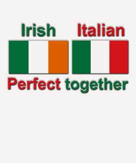 ¡Irlandés italiano - perfeccione junto! Poleras