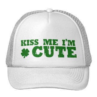 Irlandés lindo del día del St Patricks Gorro