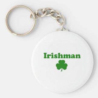 Irlandés Llavero Redondo Tipo Pin