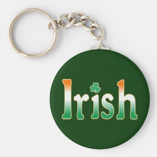 Irlandés Llaveros Personalizados