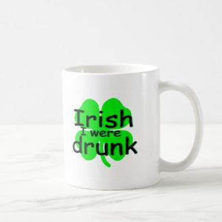 Irlandés me bebieron (el trébol) tazas