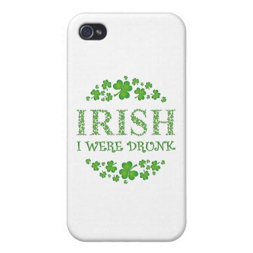 Irlandés me bebieron iPhone 4 carcasa