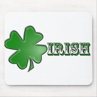 ¡Irlandés Mousepad del trébol! Tapetes De Ratón