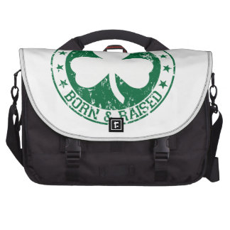 Irlandés nacido y criado bolsas para portátil