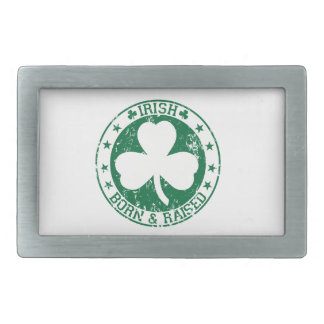 Irlandés nacido y criado hebilla de cinturon