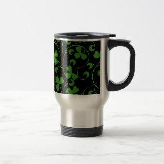 Irlandés negro taza térmica