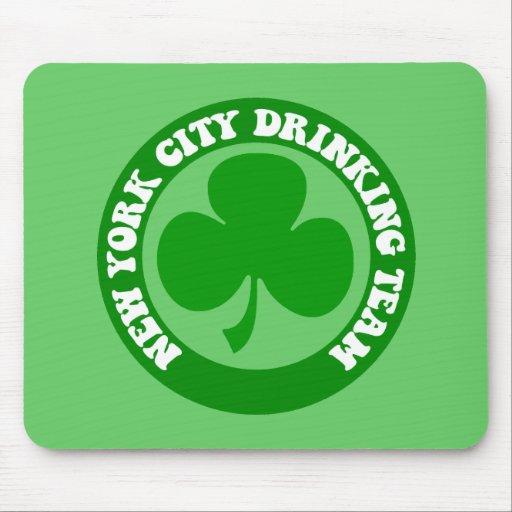 Irlandés New York City Tapetes De Ratones