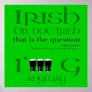 Irlandés o no irlandeses… El día de St Patrick - Póster