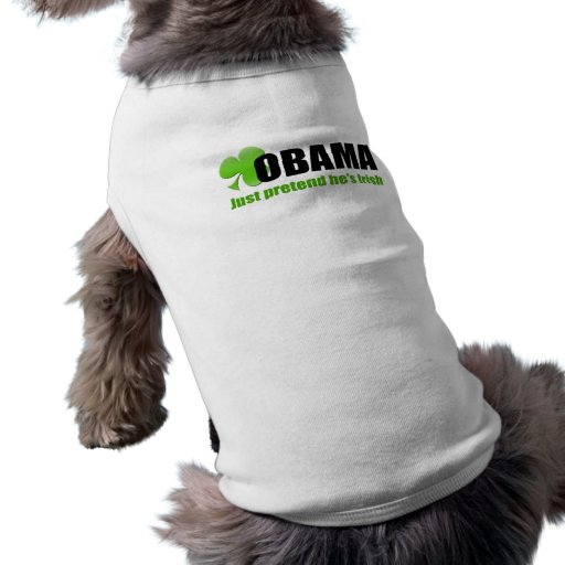 Irlandés Obama Playera Sin Mangas Para Perro