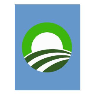 Irlandés Obama Tarjeta Postal