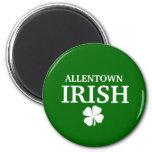 ¡IRLANDÉS orgulloso de ALLENTOWN! El día de St Pat Imanes Para Frigoríficos