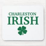 ¡IRLANDÉS orgulloso de CHARLESTON! El día de St Pa Tapete De Ratón