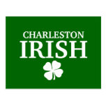 ¡IRLANDÉS orgulloso de CHARLESTON! El día de St Postal
