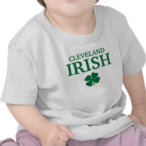 ¡IRLANDÉS orgulloso de CLEVELAND! El día de St Camisetas