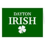 ¡IRLANDÉS orgulloso de DAYTON! El día de St Patric Tarjeta