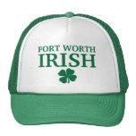 ¡IRLANDÉS orgulloso de FORT WORTH! El día de St Pa Gorro De Camionero