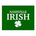 ¡IRLANDÉS orgulloso de NASHVILLE! El día de St Pat Postales