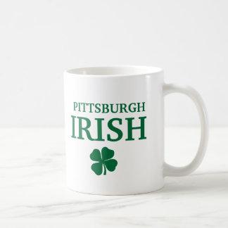 ¡IRLANDÉS orgulloso de PITTSBURGH! El día de St Pa Tazas