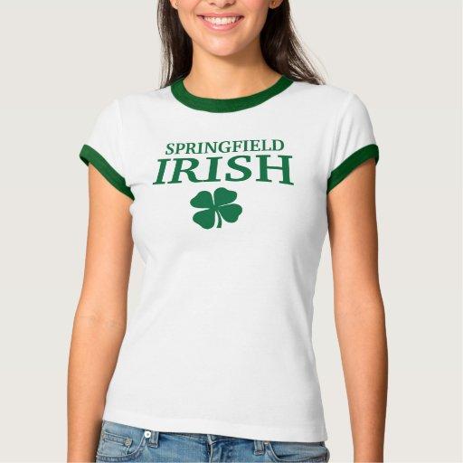 ¡IRLANDÉS orgulloso de SPRINGFIELD! El día de St Polera