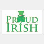 Irlandés orgulloso rectangular altavoces