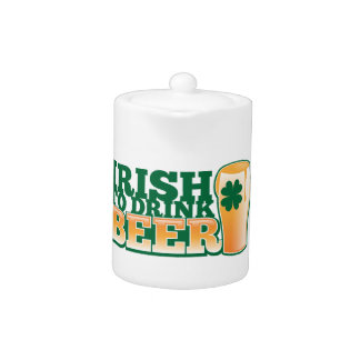 ¡Irlandés PARA BEBER LA CERVEZA! de la tienda de l