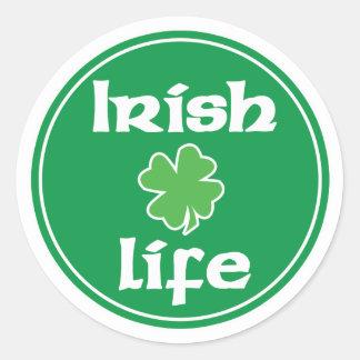 Irlandés pegatina de 4 vidas