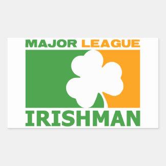 ¡Irlandés! Pegatina Rectangular