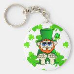 Irlandés pequenito del pedazo O Llaveros Personalizados